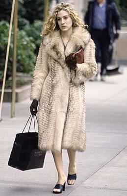 Carrie fur coat